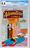Silver Age (1956-1969):Superhero, Adventure Comics #270 (DC, 1960) CGC NM 9.4 Off-white to white pages....