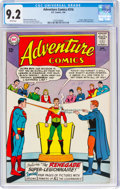 Silver Age (1956-1969):Superhero, Adventure Comics #316 (DC, 1964) CGC NM- 9.2 White pages....