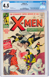 X-Men #1 (Marvel, 1963) CGC VG+ 4.5 Off-white pages