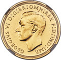 Great Britain, Great Britain: George VI 4-Piece Certified gold Proof Set 1937 NGC,... (Total: 4 coins)