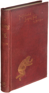 Mark Twain. The Celebrated Jumping Frog of Calaveras County. And Other Sketches. New