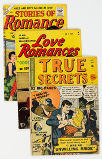 Atlas/Marvel Golden-Bronze Age Romance Comics Group of 32 (Atlas/Marvel, 1949-75) Condition: Average GD+.... (Total: 32...