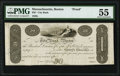 Obsoletes By State:Massachusetts, Boston, MA- City Bank $30 18__ UNL Proof PMG About Uncirculated 55.. ...