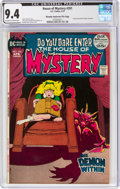Bronze Age (1970-1979):Horror, House of Mystery #201 Murphy Anderson File Copy (DC, 1972) CGC NM 9.4 Off-white to white pages....