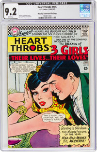 Heart Throbs #105 Murphy Anderson File Copy (Quality/DC, 1966) CGC NM- 9.2 White pages