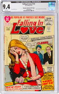 Bronze Age (1970-1979):Romance, Falling in Love #133 Murphy Anderson File Copy (DC, 1972) CGC NM 9.4 White pages....