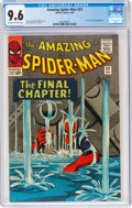 Silver Age (1956-1969):Superhero, The Amazing Spider-Man #33 (Marvel, 1966) CGC NM+ 9.6 Off-white to white pages....