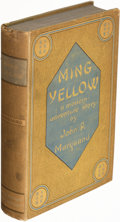 Books:Mystery & Detective Fiction, John P. Marquand. Ming Yellow. Boston: Little, Brown, and Company, 1935. First edition....
