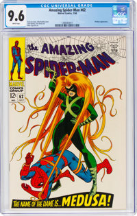 The Amazing Spider-Man #62 (Marvel, 1968) CGC NM+ 9.6 White pages