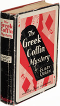 Books:Mystery & Detective Fiction, Ellery Queen. The Greek Coffin Mystery. A Problem in Deduction. New York: Frederick A. Stokes, 1932. First editi...
