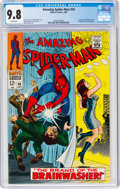 Silver Age (1956-1969):Superhero, The Amazing Spider-Man #59 (Marvel, 1968) CGC NM/MT 9.8 White pages....