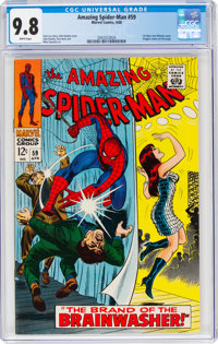 The Amazing Spider-Man #59 (Marvel, 1968) CGC NM/MT 9.8 White pages