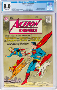 Action Comics #266 (DC, 1960) CGC VF 8.0 Off-white pages