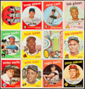 Baseball Cards:Sets, 1959 Topps Baseball Near Complete Set (570/572). ...