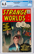 Silver Age (1956-1969):Horror, Strange Worlds #5 (Marvel, 1959) CGC FN+ 6.5 White pages....