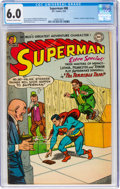 Golden Age (1938-1955):Superhero, Superman #88 (DC, 1954) CGC FN 6.0 Off-white to white pages....