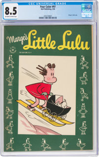 Four Color #97 Marge's Little Lulu (Dell, 1946) CGC VF+ 8.5 Off-white to white pages