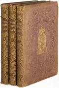 Books:Literature Pre-1900, Charles Dickens. Master Humphrey's Clock. London: Chapman and Hall, 1840-1841. First edition, first issue.. ... (Total: 3 Items)