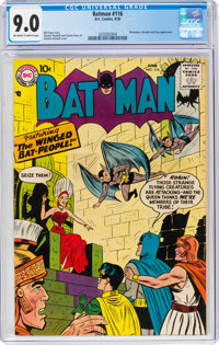 Batman #116 (DC, 1958) CGC VF/NM 9.0 Off-white to white pages