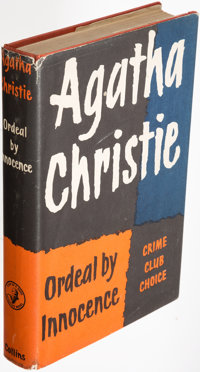 Agatha Christie. Ordeal by Innocence. London: The Crime Club, [1958]. First edition