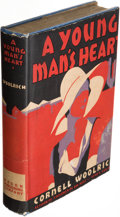 Books:Mystery & Detective Fiction, Cornell Woolrich. A Young Man's Heart. New York: Mason Publishing Co., 1930. First edition....
