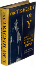 Books:Mystery & Detective Fiction, [Ellery Queen]. Barnaby Ross (pseudonym). The Tragedy of Y. A Drury Lane Mystery. New York: The Viking Press, 19...