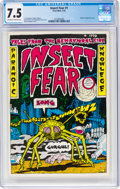 Bronze Age (1970-1979):Alternative/Underground, Insect Fear #1 (Print Mint, 1970) CGC VF- 7.5 Off-white to white pages....