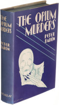 Books:Mystery & Detective Fiction, Peter Baron. The Opium Murders. New York: The Macaulay Company, [1930]. First edition....