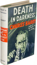 Books:Mystery & Detective Fiction, Charles Barry. Death in Darkness. New York: E. P. Dutton & Co., [1933]. First edition....