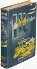Books:Mystery & Detective Fiction, Raymond Chandler. The High Window. New York: Alfred A. Knopf, 1942. First edition....