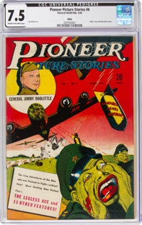 Pioneer Picture Stories #6 Ohio Pedigree (Street & Smith, 1943) CGC VF- 7.5 Cream to off-white pages