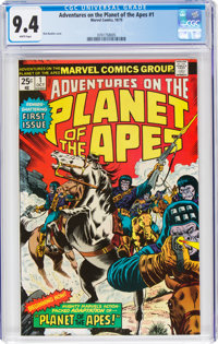 Adventures on the Planet of the Apes #1 (Marvel, 1975) CGC NM 9.4 White pages