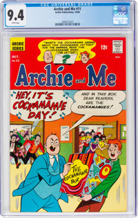 Archie and Me #11 (Archie, 1966) CGC NM 9.4 White pages