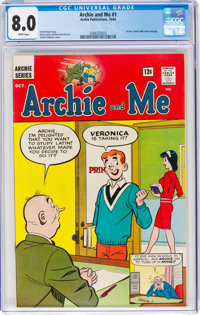 Archie and Me #1 (Archie, 1964) CGC VF 8.0 White pages