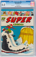 Golden Age (1938-1955):Cartoon Character, Super Comics #55 File Copy (Dell, 1942) CGC VF 8.0 Off-white pages....
