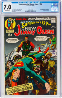 Superman's Pal Jimmy Olsen #134 (DC, 1970) CGC FN/VF 7.0 Off-white pages