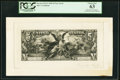 Large Size:Federal Proofs, 1895 Dated $5 Silver Certificate Face Proof PCGS Choice New 63.. ...