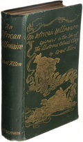 Books:Literature Pre-1900, Grant Allen. An African Millionaire. London: Grant Richards, 1897. First edition....