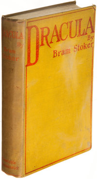 Bram Stoker. Dracula. Westminster: Archibald Constable and Company, 1897. First edition