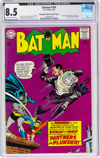 Batman #169 Murphy Anderson File Copy (DC, 1965) CGC VF+ 8.5 Off-white to white pages