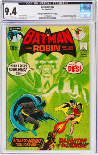 Batman #232 Murphy Anderson File Copy (DC, 1971) CGC NM 9.4 Off-white to white pages