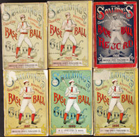 1881-97 Spalding Base Ball Guides Lot of 18