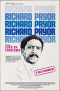 """Movie Posters:Documentary, Richard Pryor: Live in Concert (Warner Bros., 1979). Rolled, Very Fine+. One Sheet (27"""" X 41""""). Documentary.. ..."""