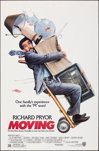 "Moving & Other Lot (Warner Bros., 1988). Rolled & Flat Folded, Very Fine-. One Sheets (2) (27"" X 41"")..."