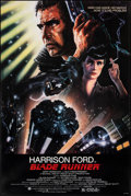 "Movie Posters:Science Fiction, Blade Runner (Warner Bros., 1982). Very Fine+ on Linen. One Sheet (27"" X 41"") Rolled Studio Version, John Alvin Artwork. Sci..."