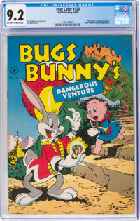 Four Color #123 Bugs Bunny (Dell, 1946) CGC NM- 9.2 Off-white to white pages