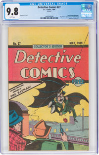 Detective Comics #27 (Oreo reprint) (DC, 1984) CGC NM/MT 9.8 White pages