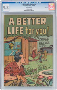 A Better Life For You #nn File Copy (Harvey, 1960) CGC NM/MT 9.8 Off-white pages