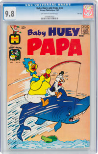 Baby Huey and Papa #30 File Copy (Harvey, 1967) CGC NM/MT 9.8 Off-white to white pages