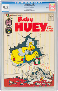 Baby Huey, the Baby Giant #42 File Copy (Harvey, 1962) CGC NM/MT 9.8 Off-white to white pages